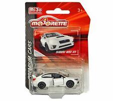 Majorette 1:64 Premium Cars Subaru WRX STI White MiJo Exclusives 3052MJ1 Diecast