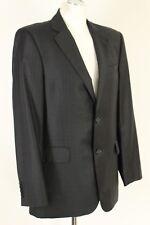 "ERMENEGILDO ZEGNA Black Pinstripe Blazer / Tailored Jacket - Size UK 40"" Chest"