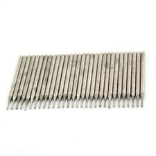 Lapidary Diamond Drill Bits 0.7 mm Carving Burrs for Dremel Pack of 30Pcs