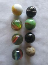 VINTAGE MARBLE LOT ALL LARGE MARBLES MIXED LOT