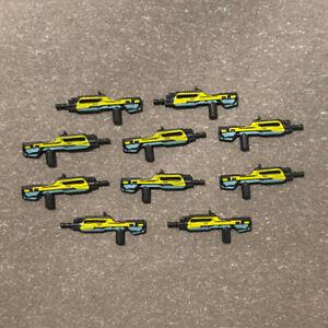 Mega Bloks Construx Halo 10 Battle Rifle weapons guns lot *New Unused* Block Toy