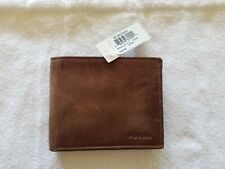 Fossil Leather Bifold Men's Brown Wallet! Brand New! Very good Quality! Last One