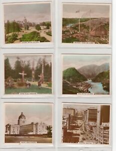 Set of 48 Tobacco Cards Canadian CANADA VIEWS OF INTERESTS by HILL from 1940