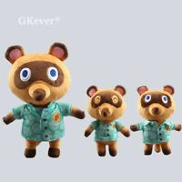 Tom Nook Animal Crossing Plush Toy  Raccoon Soft Stuffed Doll Anime Kid Gift