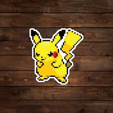 8-Bit Pikachu (Pokemon) Decal/Sticker