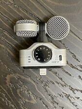 Zoom iQ7 Mid-Side Stereo Microphone for iOS iPhone With Foam Wind Screen