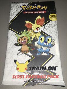 Pokemon TCG Kalos First Partner 25th Anniversary Jumbo Card Pack New Sealed