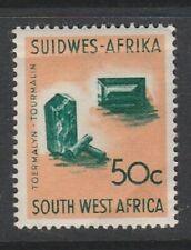 1961 SOUTH WEST AFRICA 50c TOURMALINE SG 184 U/MINT