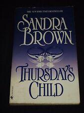 wm* SANDRA BROWN ~ THURSDAY`S CHILD