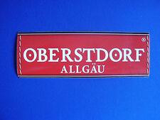 Aufkleber Oberstdorf im Allgaü Bundesland Bayern 14 x 4,7 cm Deutschland Germany