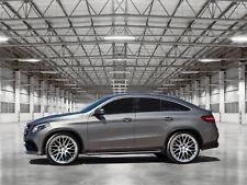 Concave 10x22 Zoll Alufelgen Mercedes GLE + Coupe 5x112 ET40 + AMG Felgencenter