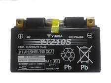 BATTERIA YUASA YTZ10S 12V 9AH PRECARICATA PER YAMAHA YZF-R6, W, EC 600 06-09