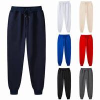 Men Gym Sport Jogger Running Sweatpants Trousers Streetwear Harem Long Pant 67UK