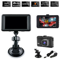"Vehicle Car 3.0"" 1080P Dashboard DVR Camera Video Recorder Dash Cam G-Sensor GPS"