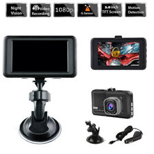 3'' Full HD 1080P Car DVR Video Camera Recorder Dash Cam Dashboard G-sensor GPS