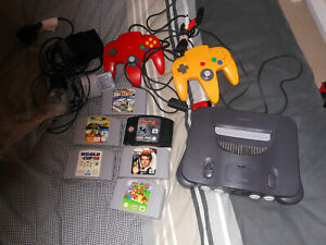 Nintendo 64 n64 Console & Game Bundle - mario + goldeneye + others