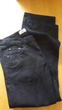 Mens Burton Black Regular Jeans 36W Short Brand New