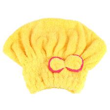 Microfiber Towel Quick Dry Hair Magic Drying Turban Wrap Caps Hat Spa Bathing JR
