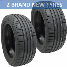 2x 2555019 BUDGET 107 New Tyres Runflat 255 50 19 Bmw X5 Front 255/50