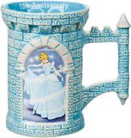 Disney Princess Cinderella 70th Anniversary Sculpted Castle Mug Prince Charming
