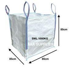 More details for 1 ton bag rubble bulk bags builders garden waste jumbo refuse one tonne sacks