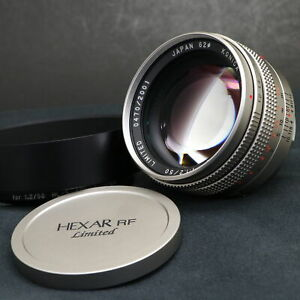 Konica M-HEXANON 50mm F1.2(for Leica M) -MINT- #135