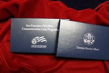 2006 Proof San Francisco Mint Commem Silver Dollar, In Mint Packaging With Coa