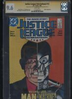 Justice League International #12 CGC 9.6 3x SS Maguire & Giffen & DeMatteis 1988