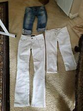 Lot Of Guess Jeans & 2 Capris Size 26
