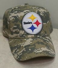 Pittsburg Steelers NFL Football Team Baseball Cap Camo Hat