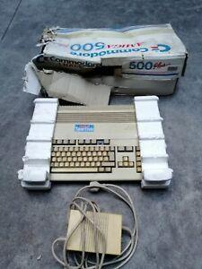 Commodore Amiga 500 Plus con scatola computer vintage retro computer videogioco