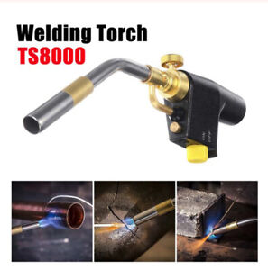 For TS8000 Trigger Start Brass Mapp Gas Torch High Intensity Propane