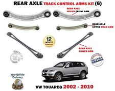 FOR VW TOUAREG 2002-> REAR AXLE UPPER LOWER FRONT + REAR TRACK CONTROL ARM KIT