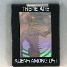 THERE ARE ALIENS AMONG US Boxed Limited Edition HOLOGRAM Card Set of 8 from 1992