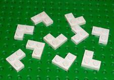 WHITE LEGO WT9 2420 x 10 2 x 2 Corner Plate