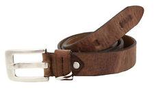 "MAC JEANS Herren Leder Gürtel Men Leather Belt Größe 95 37"" Made in Germany NEU"