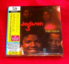 Jackson 5 Third Album /Maybe Tomorrow SHM MINI LP CD JAPAN UICY-94293