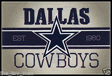 DALLAS COWBOYS FOOTBALL NFL LICENSED VINTAGE TEAM LOGO INDOOR DECAL STICKER