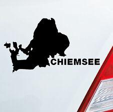 Auto moto adesivo Chiemsee mare auto GERMANIA vacanza Sticker Lake 228