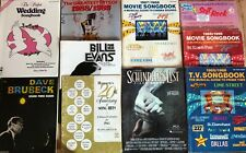 New Listing10 Piano song books Movie Hits / Dave Brubeck / Wedding Music / T.V. Songs etc