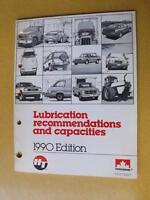 PETRO CANADA HT LUBRICATION GUIDE BOOK 1990 MANUAL CAR TRUCK SNOWMOBILE CHAINSAW
