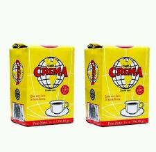 4 Pack of Café Molido Crema 100% Puro Brand Puerto Rico Ground Coffee 14oz