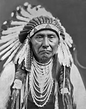 Home Décor Items Wall Hangings Native American Indian Sioux Chief Strikes With Nose Poster Art Print A3 A4