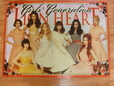 SNSD GIRLS' GENERATION  - LION HEART [ORIGINAL POSTER] *NEW* K-POP