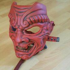 Samurai Mask Japanese Mempo Menpo kabuto