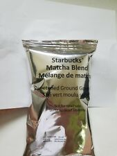 Starbucks Matcha Blend Sweetened Green Tea Powder 17.6 oz