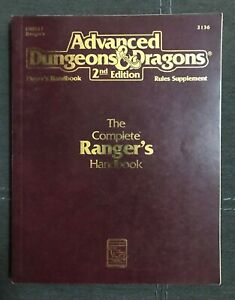 AD&D, 2nd Edition, The Complete Ranger's Handbook