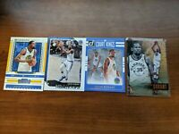 Kevin Durant 4 Card Lot Court Kings, Contenders Hoops, and Essentials