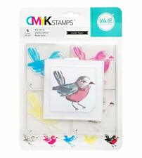 American Crafts We R Memory Keepers Cmyk Stamps Bird New