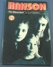 RARE Hanson SIGNED AUTOGRAPHED Official Book 1997 Starbeat Contest 1999?